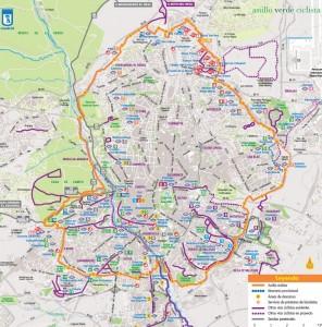 Anillo ciclista Madrid